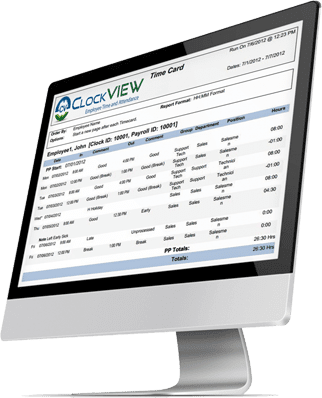 ClockVIEW time and attendance software can automatically acount for employee absence and tardiness.