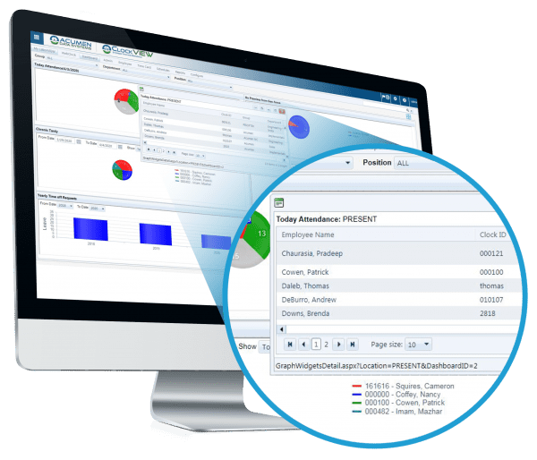 timekeeping software and online time clock software